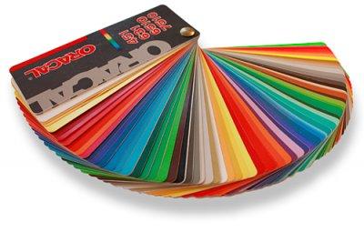 farvevifte med skærefolier