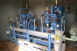 Gaskomprimeringsanlæg