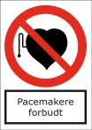Pacemaker forbudt