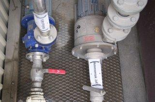 Godkendte pumper og ventiler