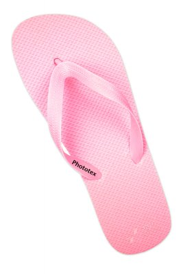 Sandal printet på Photo Tex og konturskåret