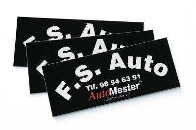 Klistermaerker F.S. Auto